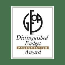 GFOA Distinguished Budget