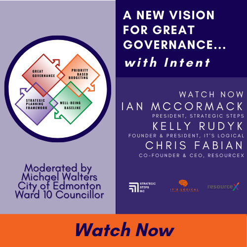 A New Vision for Great Governance Event Recording