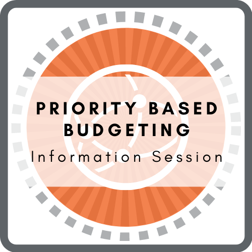 Priority Based Budgeting Information Session