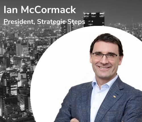 Ian McCormack President, Strategic Steps-1